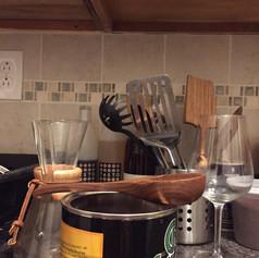 walnut coffee scoop