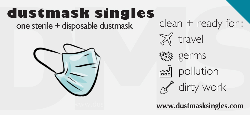 dustmask singles packaging design