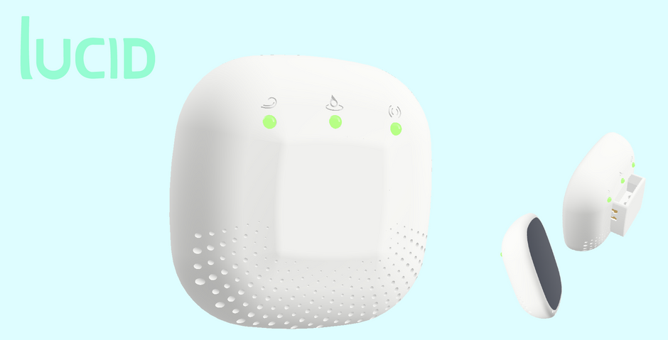 the product gives people a simple way to keep track of factors that present serious health risks in the home, but often go undetected