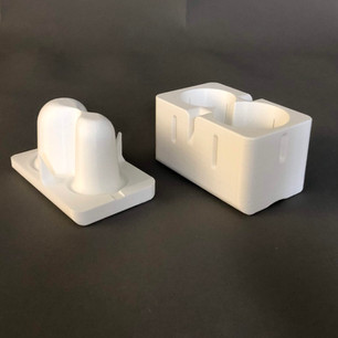 3D printed vented mold for the pencil cup product