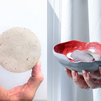 RE//source, inc. repurposed paper pulp products