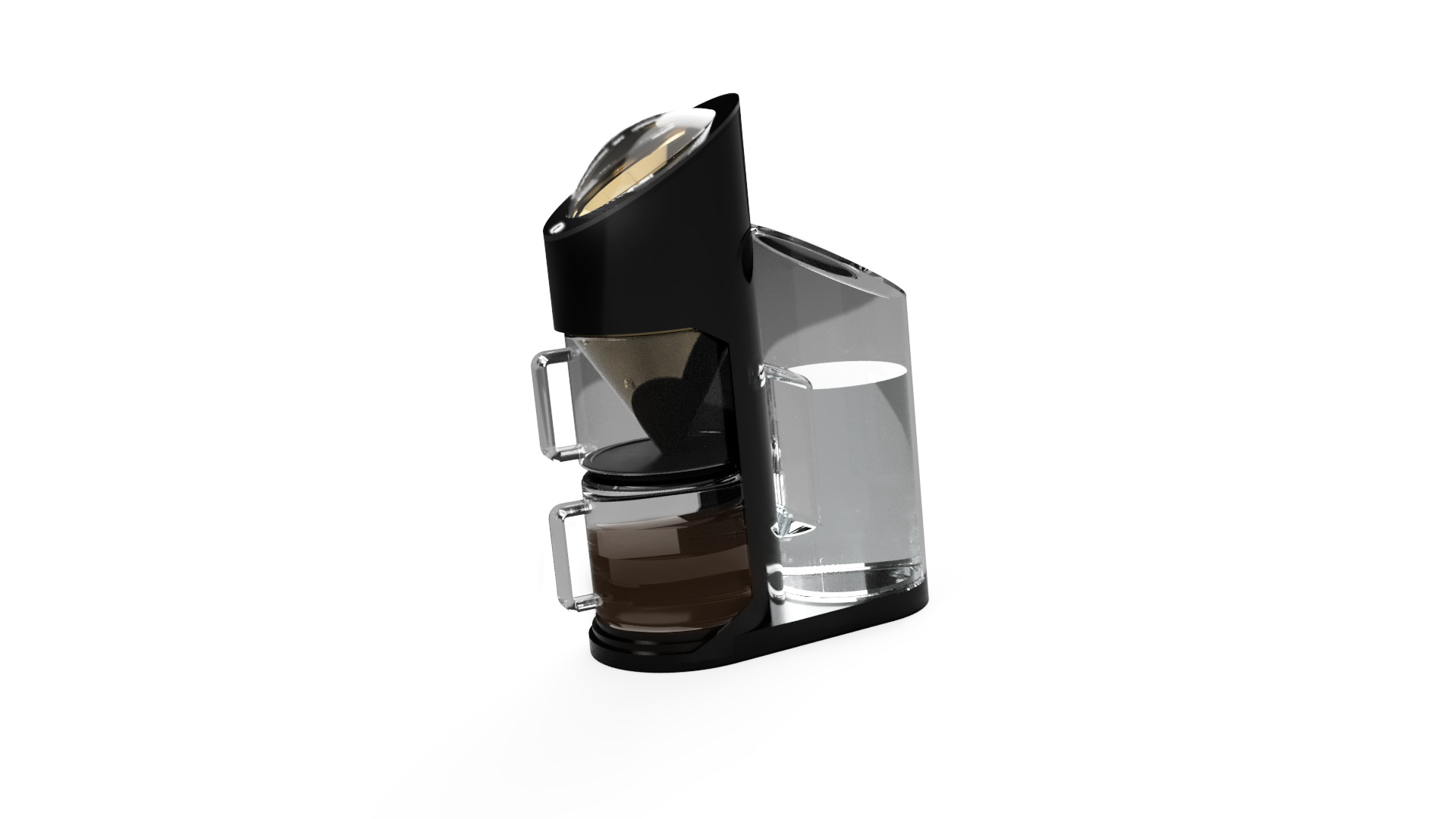 gemini grind + brew is designed to capture the ritual and quality of making pourover coffee in a more automated, precise process