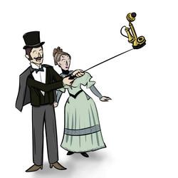 selfie stick retrospective – 1870