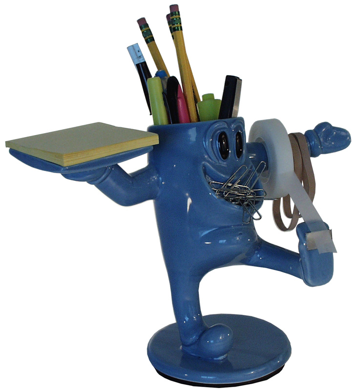 the original ceramic desk buddy, which I designed for my father's small business when I was 11