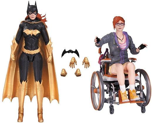 Batgirl & Oracle - Batman Arkham Knight - Dc Collectibles