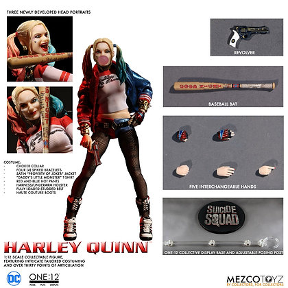 Harley Quinn Suicide Squad - One:12 - MEZCO