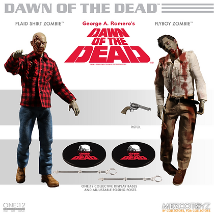 Dawn of the Dead 2 Pack - One:12 - MEZCO