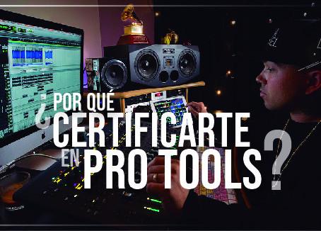 ¿Qué es Pro Tools y por qué tienes que certificarte en eso?