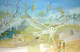 Owl In My Landscape