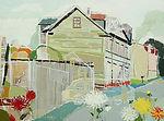 Laura Vecmane, Painting, Moon Street