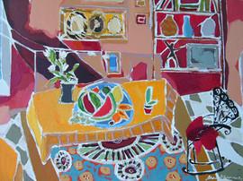 Interior after Matisse