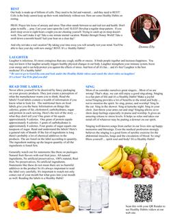 Health Habits B