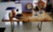 Petrified Wood Desk