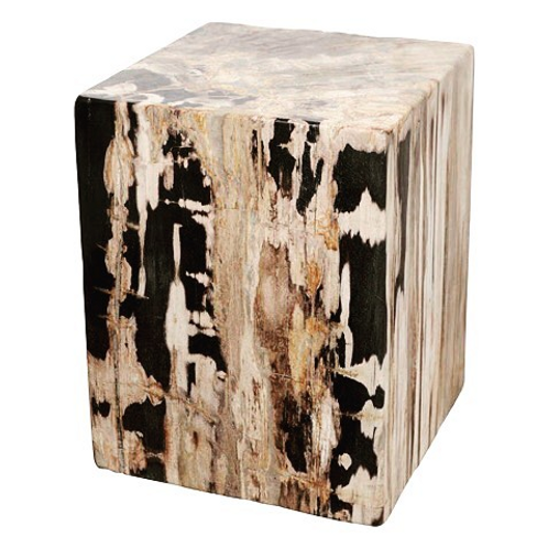 Petrified Wood Square Stools