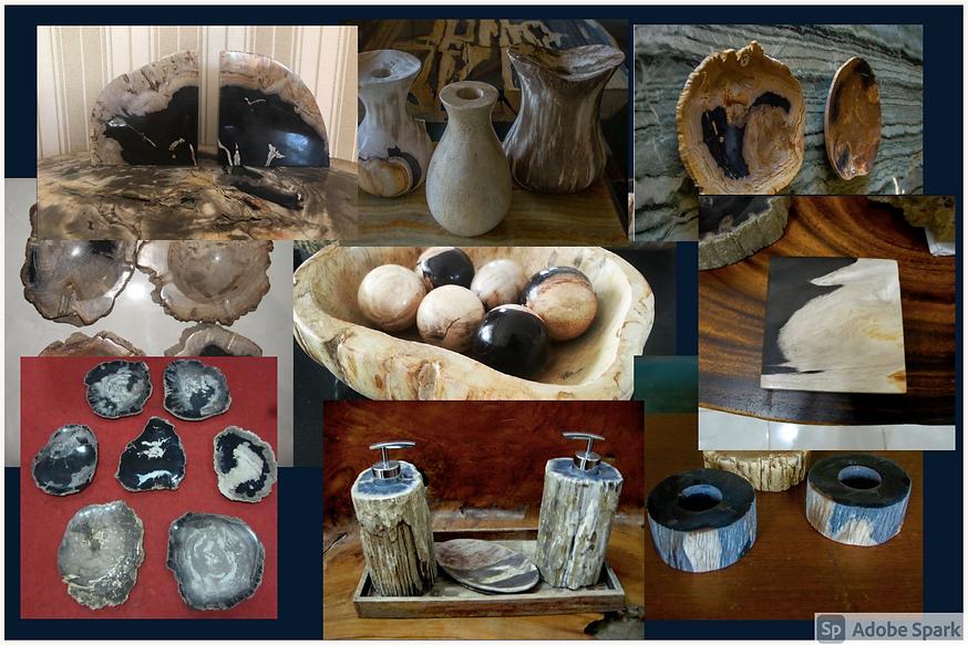 Petrified Wood Accessories