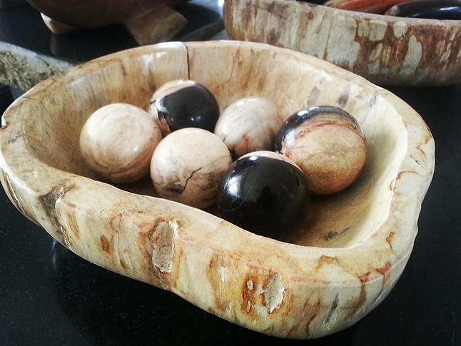Petrified Wood Balls