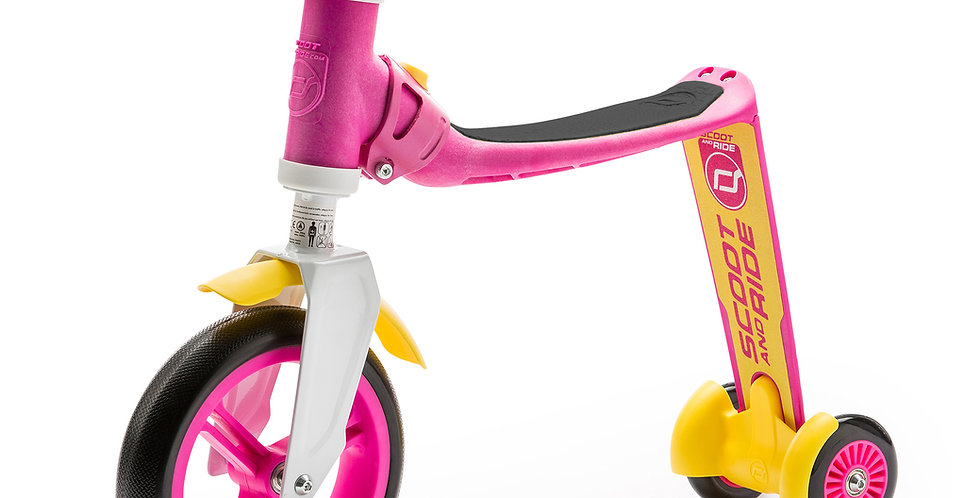 Highwaybaby+ - pink/yellow