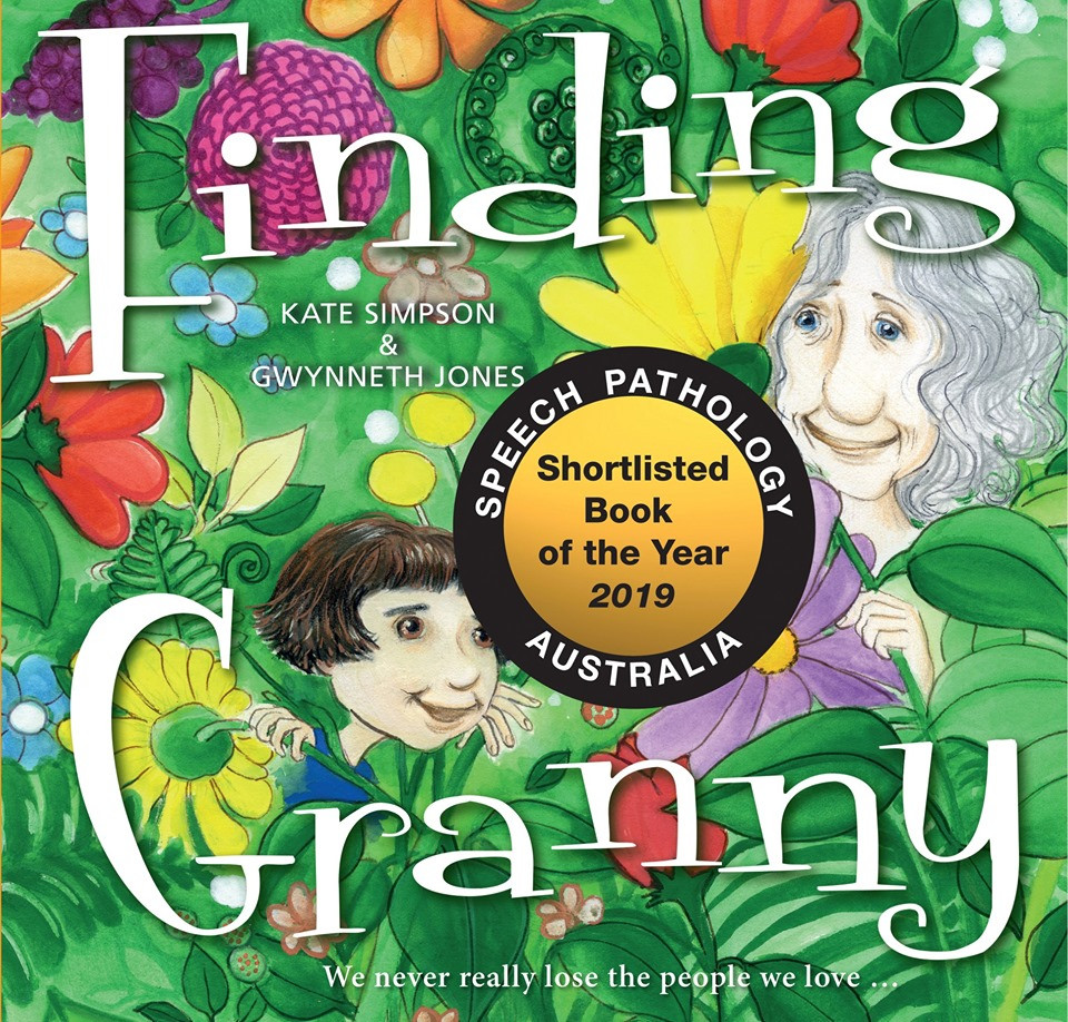 Finding Granny by Kate Simpson shortlisted for Speech Pathology Australia Book of the Year