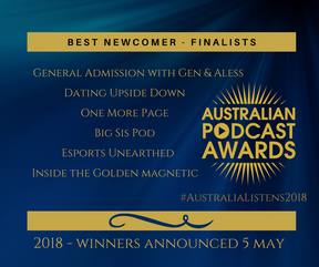 Australian Podcast Award Finalist