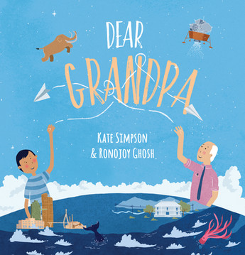 Dear Grandpa by Kate Simpson and Ronojoy Ghosh