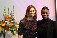 Krystal Ball (left) and Niki Brown (right)