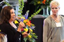 Cynthia Kay (left) and Doreen Bolhuis (right)
