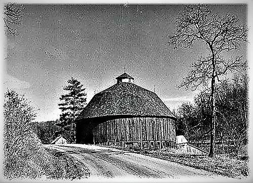Alga Shivers Round Barn