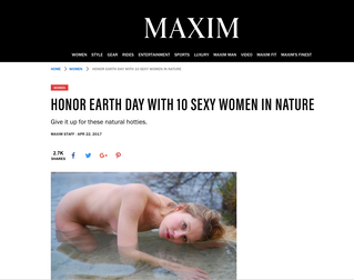 Honor Earth Day With 10 Sexy Women