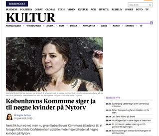 Berlingske: Københavns Kommune siger ja til nøgne kvinder på Nytorv