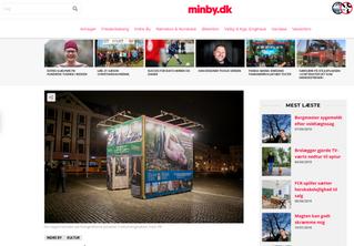 MinBy.dk: Kunst på Nytorv: Nøgne kvinder i naturen
