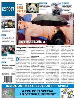 Copenhagen Post (Cover): Too Prude To Go Nude?