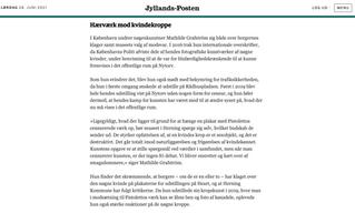 Nøgenkunst censureres på Hearth Museum i Herning