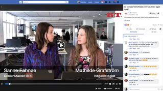 BT interview (facebook live): Er kvinder for kritiske overfor deres egen krop?