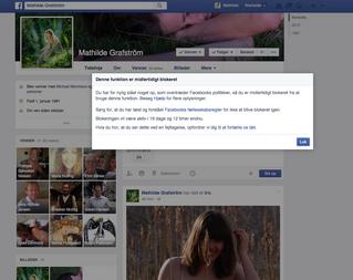 Facebook censur