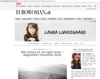 Eurowoman: Om retten til sin egen krop – nøgenhed i kunstens navn