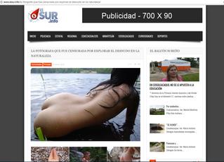 elsur.info: LA FOTÓGRAFA QUE FUE CENSURADA POR EXPLORAR EL DESNUDO EN LA NATURALEZA