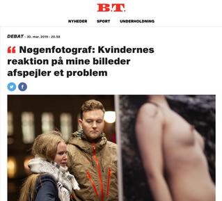 BT: Nøgenfotograf: Kvindernes reaktion på mine billeder afspejler et problem