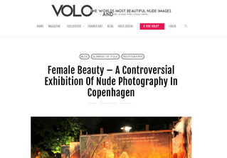 VOLO: Female Beauty – A Controversial Exhibition Of Nude Photography In Copenhagen