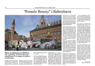 """Christianshavneren: """"Female Beauty"""" i København"""