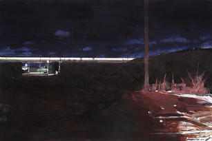 A train from beach-Far Rockaway%
