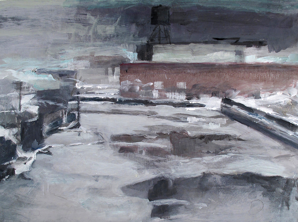 """winter Gowanus long view""-"