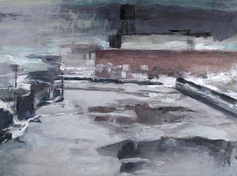 """winter Gowanus long view""-"