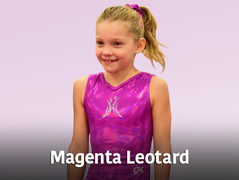Magenta Leotard