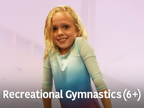 Recreational Gymnastics (6+)