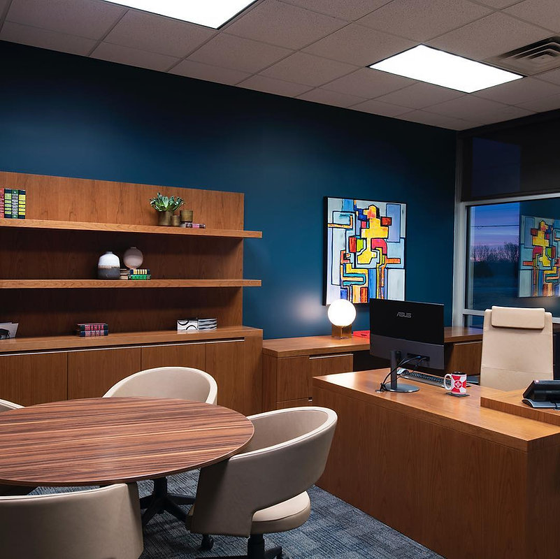 Commercial Interior Design Office Space Wichita Kansas