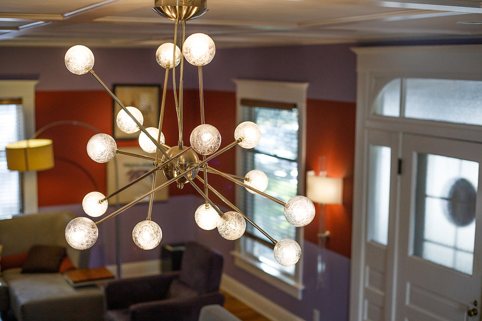 Residential Interior Design and Decorator Lighting Wichita Kansas