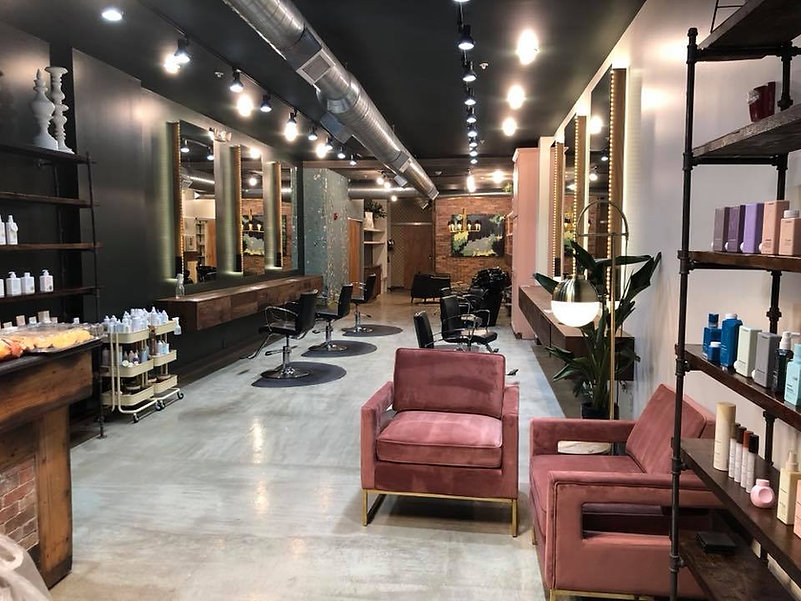 Commercial Interior Design Hair Salon Wichita Kansas