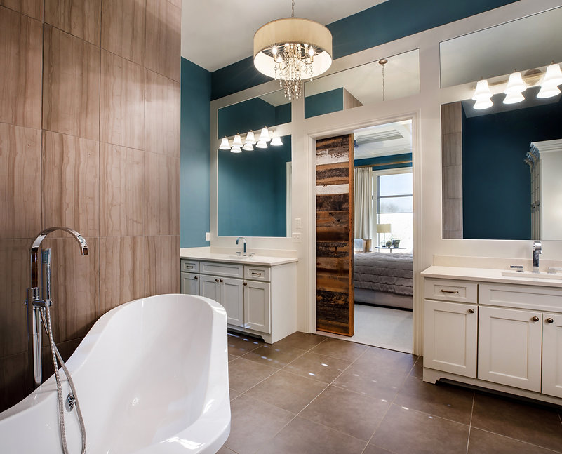 Residential Interior Design and Decorator Bathroom Wichita Kansas