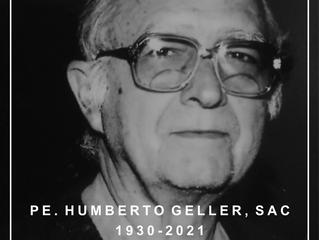 NOTA DE FALECIMENTO | Pe. Humberto Geller