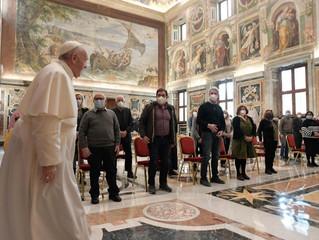Papa Francisco: no pobre que encontramos está o amor de irmão e o próprio Cristo